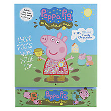 Buy Peppa Pig Family Organiser 2015 Wall Calendar Online at johnlewis.com