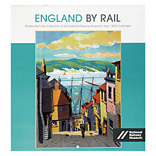 Buy National Railways Museum England By Rail 2015 Calendar Online at johnlewis.com