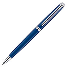 Buy Hémisphère Waterman Ballpoint Pen, Blue Online at johnlewis.com
