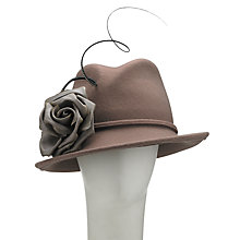 Buy Whiteley Sammi Trilby, Clay Online at johnlewis.com