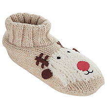 Buy John Lewis Rudolph Bootie, Natural, One Size Online at johnlewis.com