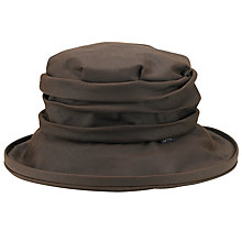 Buy Olney Annabelle Wax Rouched Hat Online at johnlewis.com
