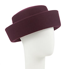 Buy Whiteley Claire Breton Hat, Red Online at johnlewis.com