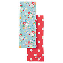 Buy Cath Kidston Clifton Rose Tea Towels, Set of 2 Online at johnlewis.com
