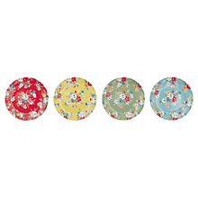 Buy Cath Kidston Clifton Rose Side Plates, Set of 4 Online at johnlewis.com