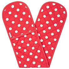 Buy Cath Kidston Big Spot Double Oven Glove Online at johnlewis.com