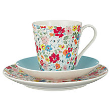 Buy Cath Kidston Mews Ditsy Tableware Trio, Set of 3 Online at johnlewis.com