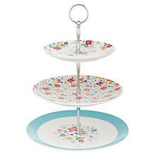 Buy Cath Kidston Clifton Rose 3 Tier Cake Stand Online at johnlewis.com