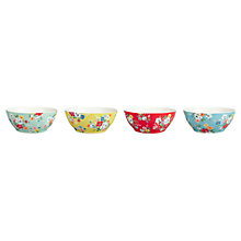 Buy Cath Kidston Clifton Rose Cereal Bowls, Set of 4 Online at johnlewis.com