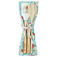 Buy Cath Kidston Clifton Rose Utensil Gift Set, 4 Pieces Online at johnlewis.com