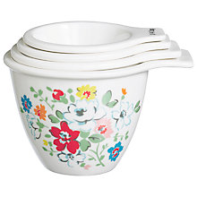 Buy Cath Kidston Clifton Rose Measuring Cups, Set of 4 Online at johnlewis.com