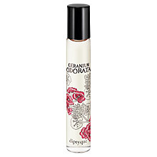 Buy Diptyque Geranium Odorate Roll-On Perfume, 20ml Online at johnlewis.com