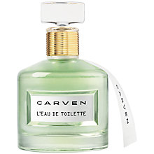Buy Carven L'eau de Toilette, 50ml Online at johnlewis.com