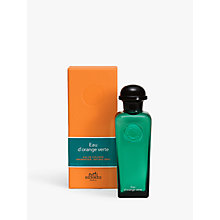 Buy HERMÈS Eau d'Orange Verte Eau de Cologne Online at johnlewis.com