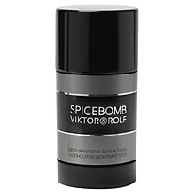 Buy Viktor & Rolf Spicebomb Deodorant Stick, 75g Online at johnlewis.com