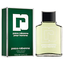 Buy Paco Rabanne Pour Homme Aftershave, 100ml Online at johnlewis.com