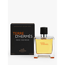 Buy HERMÈS Terre d'Hermès Eau de Parfum, 75ml Online at johnlewis.com