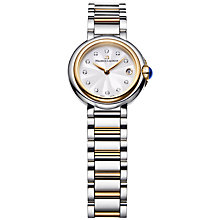 Buy Maurice Lacroix FA1003-PVP13-150 Women's Diamond Stainless Steel And Gold Bracelet Watch Online at johnlewis.com