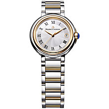 Buy Maurice Lacroix FA1004-PVP13-110 Women's Stainless Steel And Gold Plated Bracelet Watch Online at johnlewis.com
