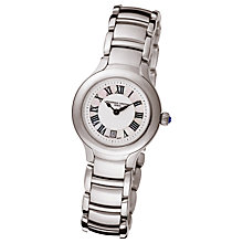 Buy Frédérique Constant FC-200M1ER6B Women's Stainless Steel Round Dial Watch Online at johnlewis.com