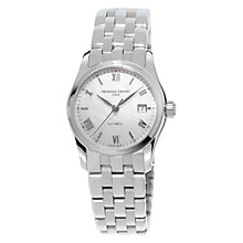 Buy Frédérique Constant FC-303MPWN1B6B Women's Automatic Mother Of Pearl Stainless Steel Bracelet Watch, Silver Online at johnlewis.com