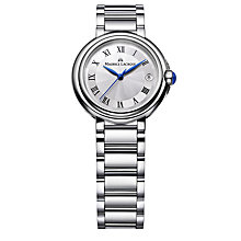 Buy Maurice Lacroix FA1004-SS002-110 Women's Stainless Steel Bracelet Watch, Silver Online at johnlewis.com