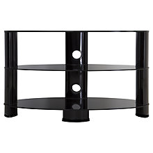 "Buy John Lewis 850 Oval TV Stand for TVs up to 40"" Online at johnlewis.com"