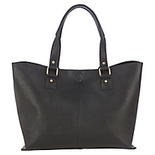 Buy Oasis Sindy Shopper Bag, Black Online at johnlewis.com