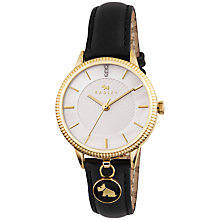 Buy Radley Women's Leather Strap Charm Watch Online at johnlewis.com