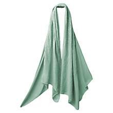 Buy East Tiny Sequin Embroidered Scarf, Duck Egg Online at johnlewis.com