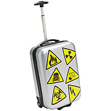 Buy Trendykid TravelKool Danger 2-Wheel Suitcase, Silver Online at johnlewis.com
