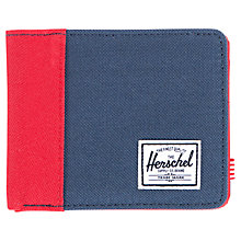 Buy Herschel Edward Wallet, Red Online at johnlewis.com