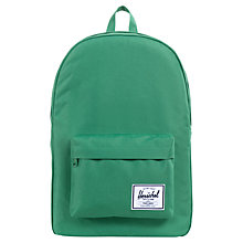 Buy Herschel Classic Backpack, Green Online at johnlewis.com