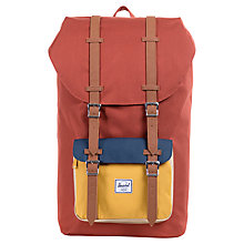 Buy Herschel Little America Backpack, Rust Online at johnlewis.com
