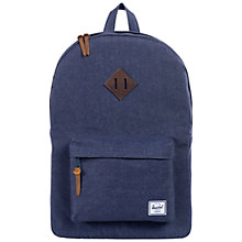 Buy Herschel Heritage Backpack, Denim Online at johnlewis.com