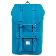 Buy Herschel Little America Backpack, Bright Blue Online at johnlewis.com
