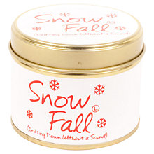 Buy Lily-Flame Mini Candle Tin, Snow Fall Online at johnlewis.com