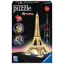 Buy The Eiffel Tower 3D Puzzle, 216 Pieces Online at johnlewis.com