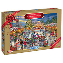 Buy Gibsons Christmas Market Jigsaw Puzzle, 1000 Pieces Online at johnlewis.com