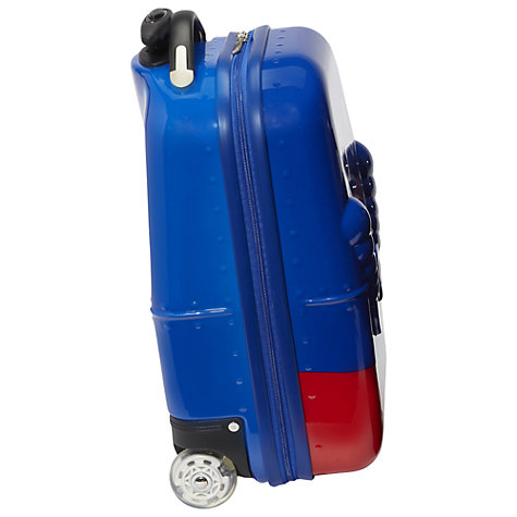 Buy Trendykid Rusty Robot 2-Wheel Suitcase, Blue Online at johnlewis.com