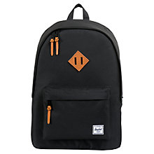 Buy Herschel Woodlands Backpack, Black Online at johnlewis.com