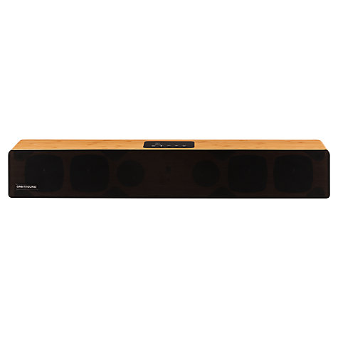 Buy Orbitsound M12 Bluetooth Sound Bar with Wireless Subwoofer, Bamboo Online at johnlewis.com