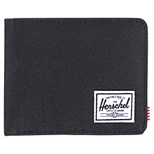 Buy Herschel Roy Wallet, Black Online at johnlewis.com
