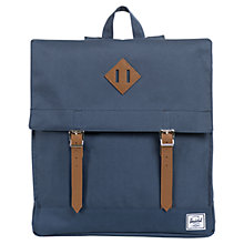 Buy Herschel Survey Backpack, Navy Online at johnlewis.com