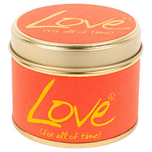 Buy Lily-Flame Mini Candle Tin, Love Online at johnlewis.com