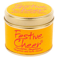 Buy Lily-Flame Mini Candle Tin, Festive Cheer Online at johnlewis.com