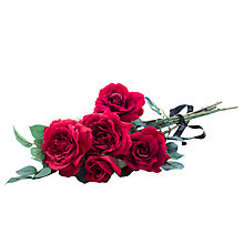 Buy Peony Red Rose Bouquet Online at johnlewis.com