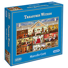 Buy Gibson & Son Treasures Within 1000 Piece Jigsaw Puzzle Online at johnlewis.com