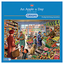 Buy Gibson & Son An Apple A Day 1000 Piece Jigsaw Puzzle Online at johnlewis.com