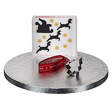 Buy Creative Party Contemporary Christmas Cake Decoration Kit Online at johnlewis.com